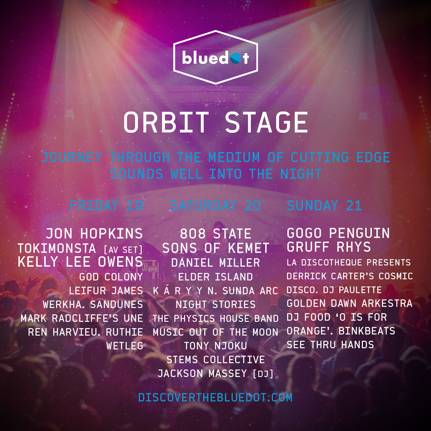 orbit stage lineup