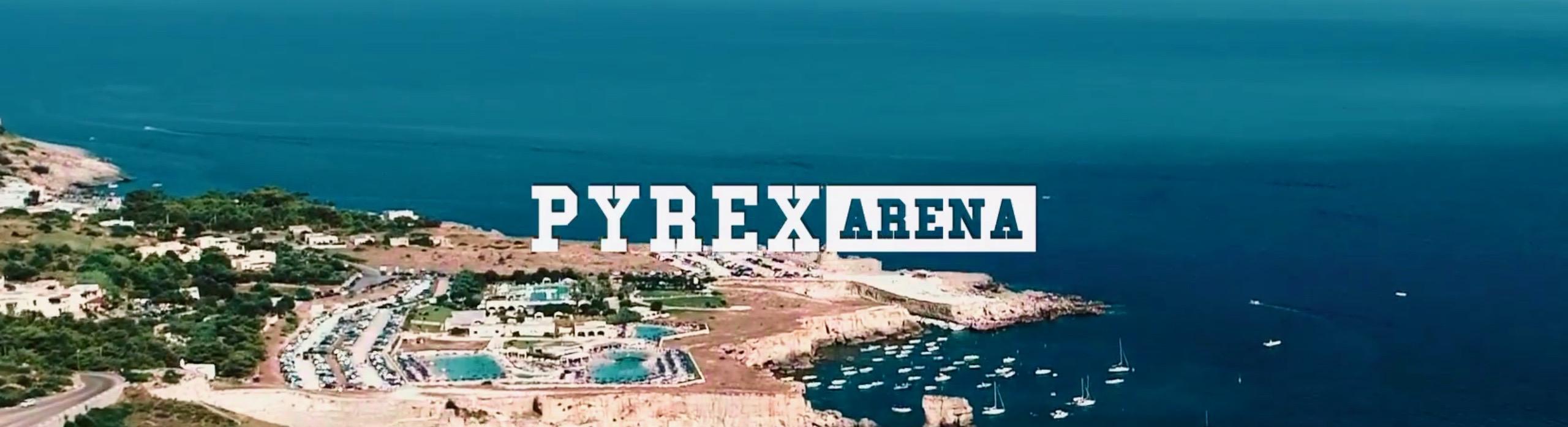 pyrex arena cover